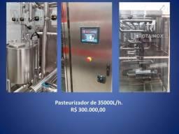 Pasteurizador de 35000L/h