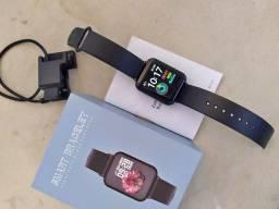Relógio Smartwatch B57 Plus, à prova d'água