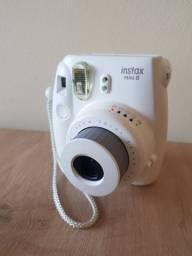 Câmera Instantânea Fujifilm Instax Mini 8 - Branco Gelo
