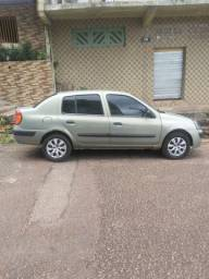 Clio sedan 2004/1.0 16v R$:9.000