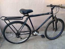 Bicicleta adulto aro 26 em perfeito estado revisada