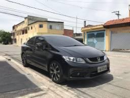 Honda Civic 2.0 preto 14/15