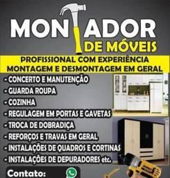 Desmontagem e montagem de móveis Instalações pinturas e muito mais