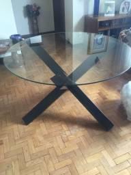 Mesa de vidro 1.20x75
