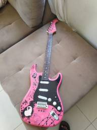 Vendo guitarra Eagle pink