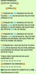 Filé de tilápia do Grillo