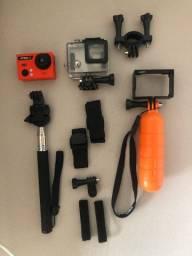 Camera hd com acessórios