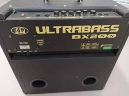 Amplificador para contrabaixo, meteoro Ultrabass BX200, 250w MRS