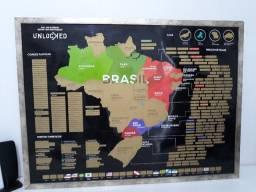 Quadro Mapa do Brasil