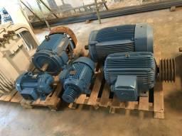 Motor elétrico trifásico 50 cv 1150 rpm