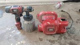 Compressor de ar para pintura portátil