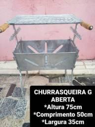 CHURRASQUEIRA TODA DESMONTÁVEL A PARTIR DE 125REAIS