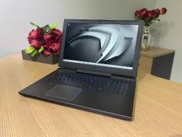Notebook Dell Gamer i7 16Gb 250Gb SSD M2 + 1Tb GTX 1060 Max-Q FHD (Garantia)