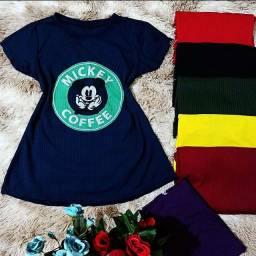 T- shirt tecido canelado, promoção