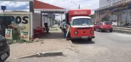Kombi food truck 45 mil no dinhero. Na troca 50 mil.