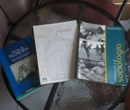 Livros Sociologia e Filosofia