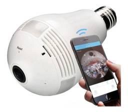 Câmera Ip Wifi Sem Fio Gravação Cartão Ios Android P2p Novo