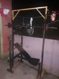 Varias máquina  de treino