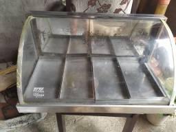 Estufa quente para salgados