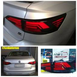 Lanterna customizada com leds