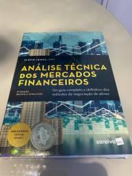 Livro Análise Técnica dos Mercados Financeiros, NOVO, LACRADO