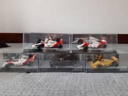 Leia o anúncio- Miniaturas 1/43 Ayrton Senna