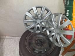 Rodas  de ferro aro 15 do Fox
