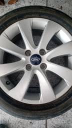 Rodas Ford Ka Fiesta Ecosport aro 16 lindas