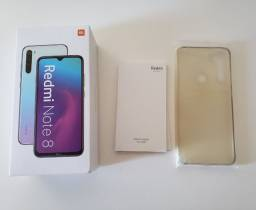 Redmi Note 8 64GB 4GB RAM VERSÃO GLOBAL Blue/Black - NOVO E LACRADO