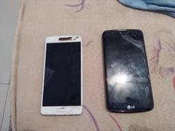 Vendo dois celulares que não esta funcionando