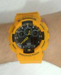G-Shock GA-100 Amarelo