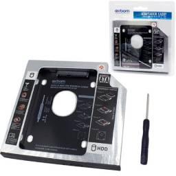 Adaptador Universal para Notebook 9.5 mm para HD 2.5 Exbom -HDCA-S095