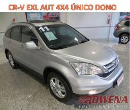 Cr-v 4X4 Exl Aut Top Unico Dono