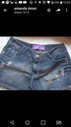 Shorts feminino pouco usado