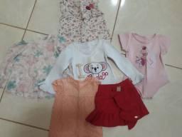 Lote de roupas de 2 anos