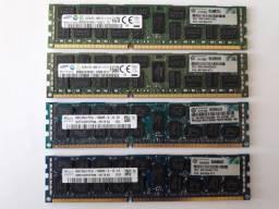 Memória Hp 8GB PC3L-10600R - 647650-071 (Cada módulo)