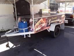 Vendo um carrinho de churrasco
