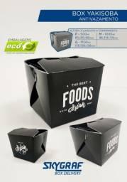 Caixa box para Yakisoba pct c/ 100