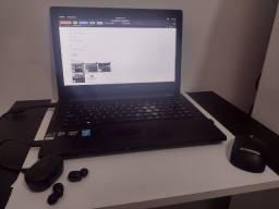 Notebook Lenovo + acessórios (Gamer/ Profissional/ Home Office)