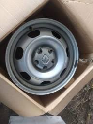 4 rodas duster oroch 16 com calota