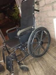 Cadeira de roda reclinável