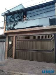 Casa à venda com 2 dormitórios em Jardim santo andré, Santo andré cod:641619