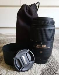 Lente Nikon 55-300mm VR- Com estabilizador de imagem - Zera