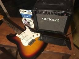 Guitarra Condor RX 20S com Case, Corda e Cabo