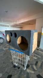 Caixa Automotiva feita de madeira naval top dmais