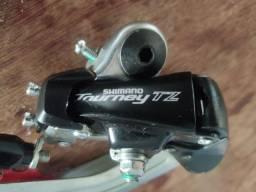 Cambio Shimano Traseiro Tourney Rd-tz400 21v 6 7v S/gan Tz31