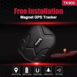 Rastreador para carro GPS Tkstar TK905 sem fio com imã à prova d'água
