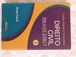Livro Direito Civil Brasileiro vol  1