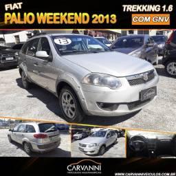 Fiat Palio 1.6 Trekking Weekend Flex 4p Com GNV