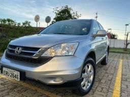 Honda CR-V LX prata 2010